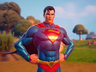 Superman DC Fortnite wallpaper