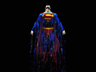 Superman Flying Digital 2020 wallpaper