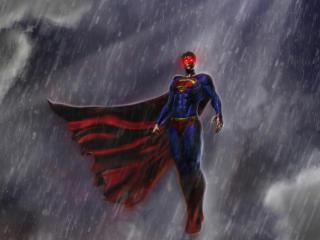 Superman Justice League Artwork wallpaper