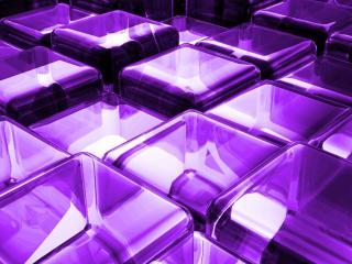 surface, blocks, purple wallpaper
