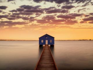 Swan River Australia 5K wallpaper