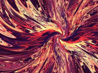 Swirl 4K Abstract wallpaper