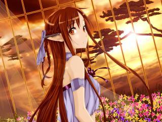 sword art online, yuuki asuna, girl wallpaper