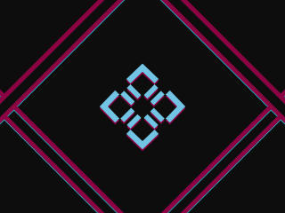 Symmetry Abstract Logo wallpaper