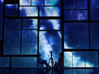 tamagosho, sky, stars wallpaper