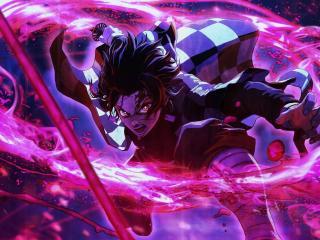 Tanjiro Kamado Cool Anime wallpaper
