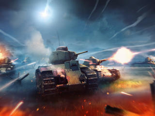 Tank War Thunder Game wallpaper