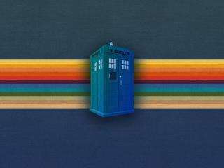 Tardis Doctor Who Digital Art wallpaper