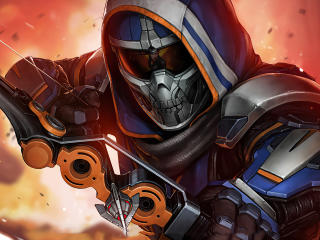 Taskmaster Marvel Future Fight wallpaper