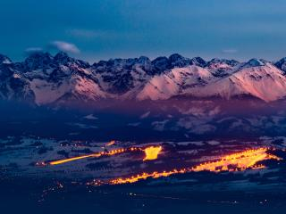 Tatra Mountains Ski Resort wallpaper