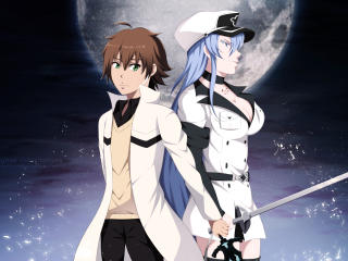 Tatsumi and Esdeath wallpaper