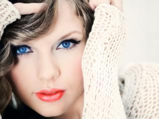 taylor swift, blue-eyed, eyes wallpaper