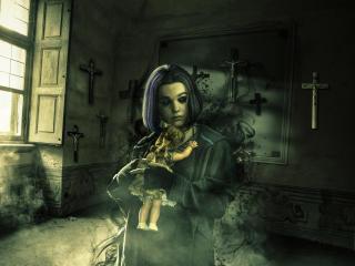 Teagan Croft as Raven wallpaper