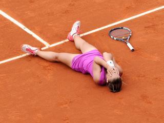 tennis, girl, court wallpaper