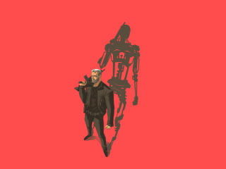 Terminator Dark Fate Minimal wallpaper