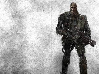 terminator, robot, cyborg wallpaper