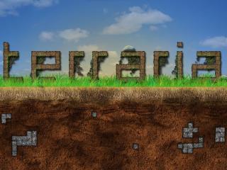 terraria, ground, grass wallpaper