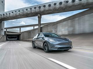 Tesla Model Y Long Range 2020 wallpaper