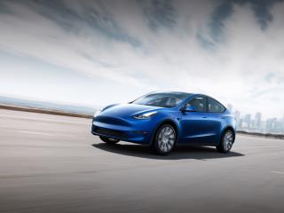 Tesla Model Y wallpaper