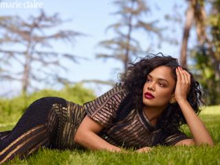 HD Wallpaper | Background Image Tessa Thompson 5K