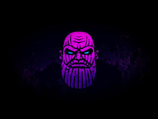 Thanos Artistic wallpaper