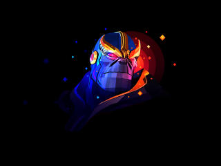 Thanos Artwork By Justin Maller wallpaper