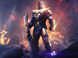 Thanos Avengers Endgame wallpaper