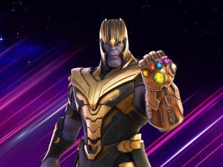 Thanos Fortnite wallpaper