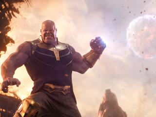 Thanos From Avengers Infinity War 2018 wallpaper