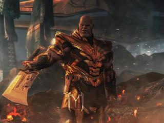 Thanos in 4K Avengers Endgame wallpaper