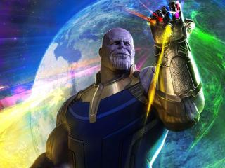 Thanos In Avengers Infinity War wallpaper
