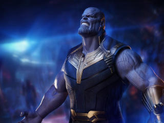 Thanos in Infinity War wallpaper