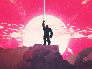 Thanos Infinity War Art wallpaper