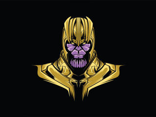 Thanos Minimal wallpaper