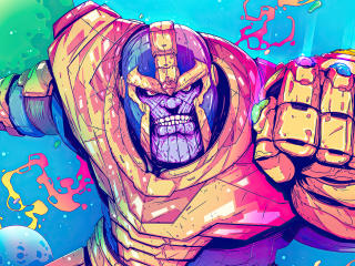 Thanos New Illustration wallpaper