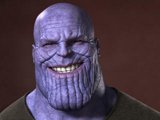 Thanos Smiling wallpaper