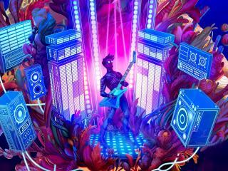 The Artful Escape HD Gaming wallpaper