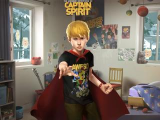 The Awesome Adventures of Captain Spirit wallpaper