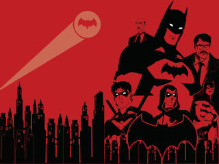 The Batman Family wallpaper