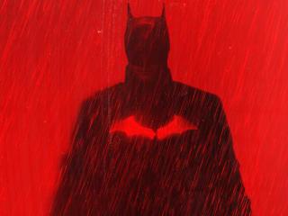 The Batman HD RedArt wallpaper