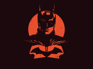 The Batman Minimalist wallpaper
