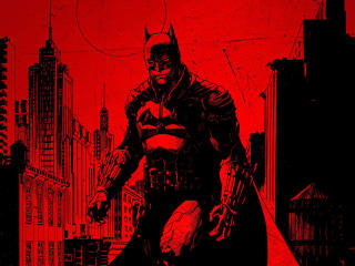 The Batman Official Poster wallpaper