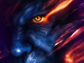 The Beast X-Men Dark Phoenix Nicholas Hoult Poster wallpaper
