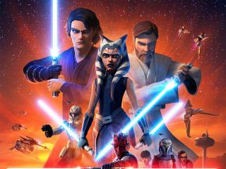 The Clone Wars 2020 wallpaper