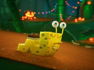 The Cosmic Shake 4K SpongeBob SquarePants wallpaper