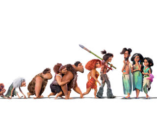 The Croods A New Age 2020 All Characters wallpaper
