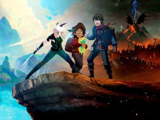 The Dragon Prince Season 4 wallpaper
