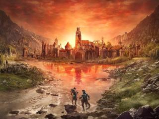 The Elder Scrolls Online Poster wallpaper