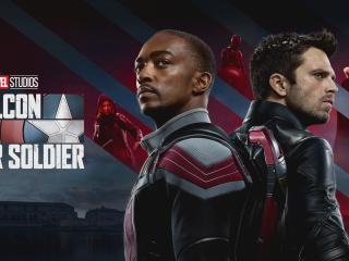 The Falcon and the Winter Soldier Disney Plus wallpaper