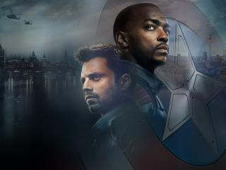 The Falcon and the Winter Soldier Official Poster wallpaper